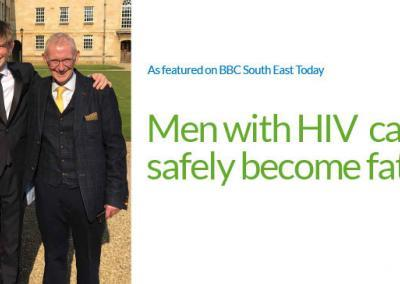 Men With HIV Can Safely Become Fathers