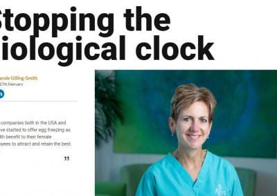 Stopping the biological clock
