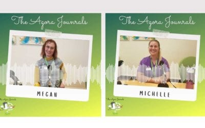 The Support: Michelle and Megan are part of the Agora's daily support team
