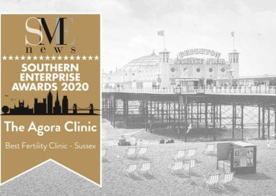Best Fertility Clinic in Sussex Award 2020 – The Agora