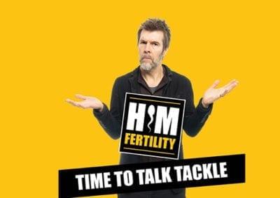 Him Fertility: Rhod Gilbert – Standing up for the men!